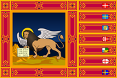 Bandiera della Regione Veneto (fonte: https://commons.wikimedia.org/wiki/File:Flag_of_Veneto.svg)